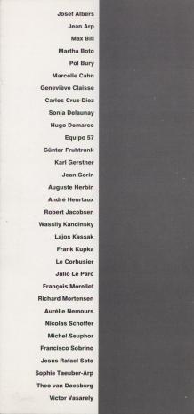 [Zaproszenie] Galeria Denise René. Sztuka konkretna/ Galerie Denise René. Art concret [...]