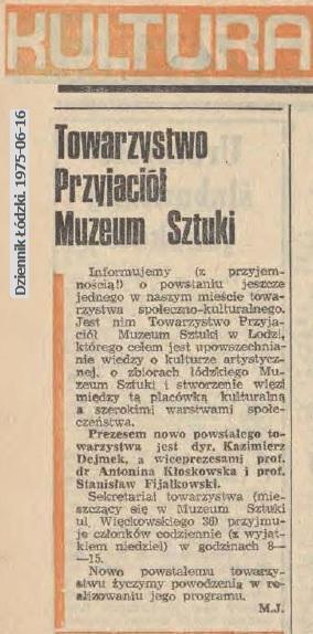 Towarzystwo Przyjaciół Muzeum Sztuki