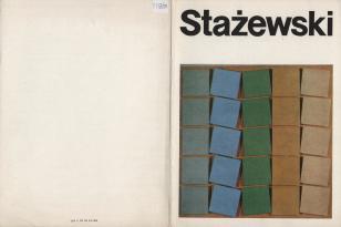 [Folder/Zaproszenie] Henryk Stażewski. Kompozycje 1967 - 1969 [...]