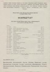 [Zaproszenie/Program] Warsztat [...]