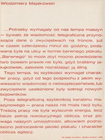 [Folder/Katalog] Radziecki plakat rewolucyjny 1917 - 1937.