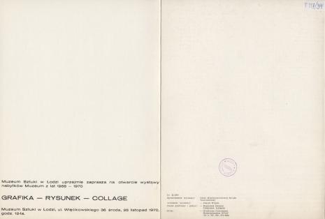 [Folder/Katalog] Grafika - Rysunek - Collage [...]