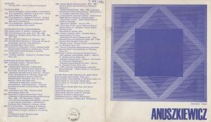 [Folder/Katalog] Anuszkiewicz
