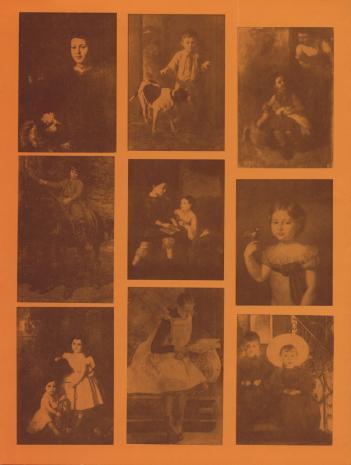 [Folder/Katalog] Portret dziecka w malarstwie polskim XIX wieku [...]