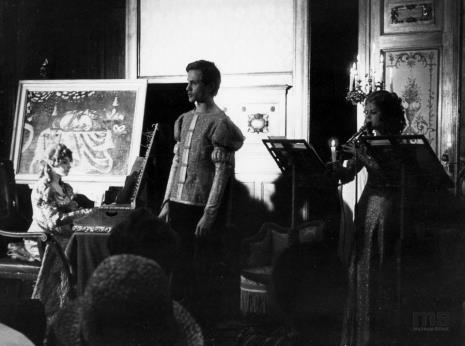 Koncert Kameralnego Zespołu Muzyki Dawnej w sali odczytowej ms
