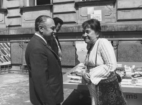 Ryszard Brudzyński (wicedyrektor ms), Maria Stangret