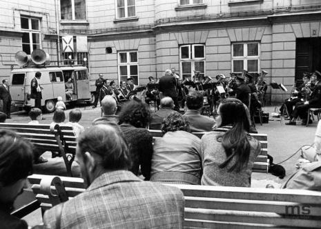 Koncert Orkiestry dętej ZPB im. Marchlewskiego w Łodzi