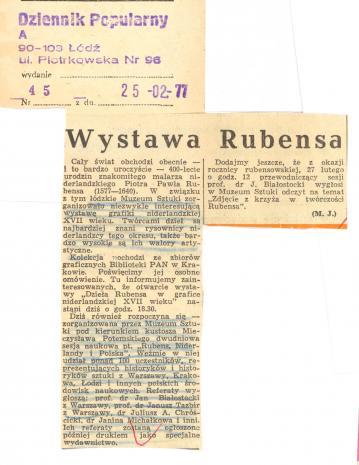 Wystawa Rubensa
