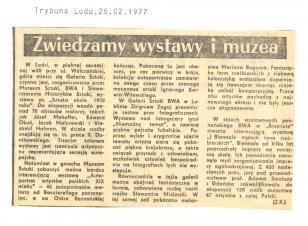 W Łodzi, w pięknej secesyjnej willi przy ul. Wólczańskiej, [...]