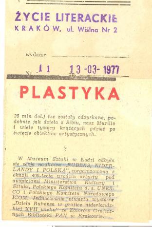 W Muzeum Sztuki w Łodzi odbyła się sesja naukowa