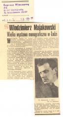Włodzimierz Majakowski. Wielka wystawa monograficzna w Łodzi