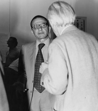 Dyr. Ryszard Stanisławski w rozmowie z Konstantym Mackiewiczem