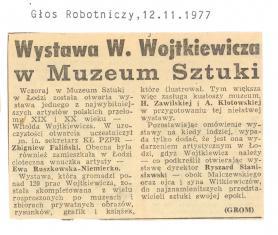Wystawa W. Wojtkiewicza w Muzeum Sztuki