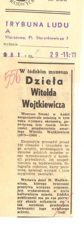 Dzieła Witolda Wojtkiewicza