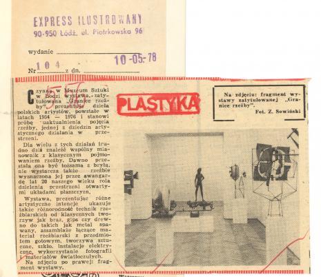 Czynna w Muzeum Sztuki w Łodzi wystawa zatytułowana