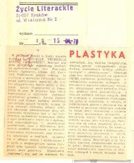 W Muzeum Sztuki w Łodzi otwarto wystawę