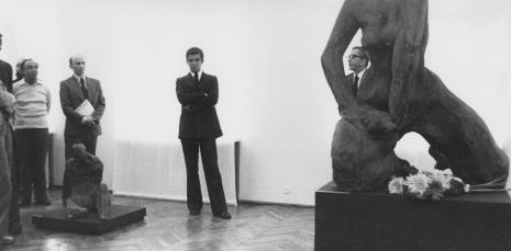 Od lewej Ryszard Świerczyński (Dział Głównego Inwentaryzatora), red. Jerzy Katarasiński, dr Jacek Ojrzyński, dyr. Ryszard Stanisławski