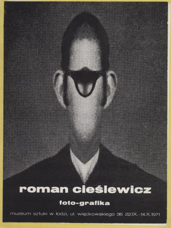 [Zaproszenie] Roman Cieślewicz. foto-grafika [...]