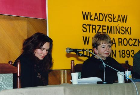 Ewa Franus (Amsterdam) i Anna Ptaszkowska