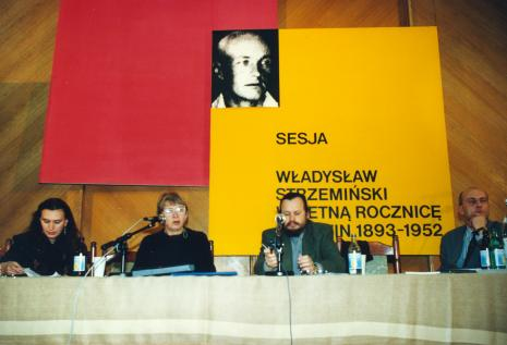 Od lewej Ewa Franus, Anna Ptaszkowska, dr Piotr Piotrowski, dyr. Jaromir Jedliński (ms)