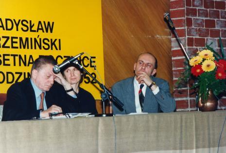 Ryszard Stanisławski, x, dyr. Jaromir Jedliński (ms)