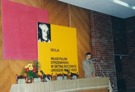 Rektor Jerzy Treliński (PWSSP w Łodzi)