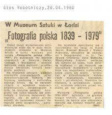 W Muzeum Sztuki w Łodzi