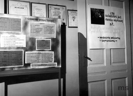 Dokumentacja wystawy w Zakładach Tekstylno-Konfekcyjnych Teofilów w Łodzi