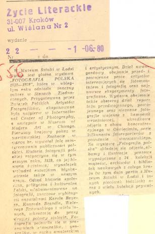 W Muzeum Sztuki w Łodzi czynna jest głośna wystawa