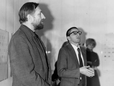 Andrzej Strumiłło i dyr. Ryszard Stanisławski