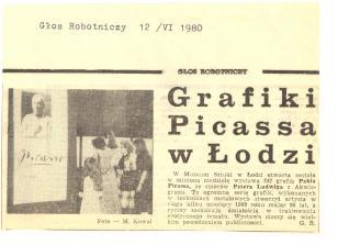 Grafiki Pabla Picassa