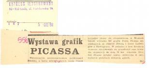 Wystawa grafik Picassa