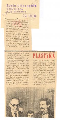 W Muzeum Sztuki w Łodzi w cyklu pokazów poświęconych polskiej fotografii  [...]