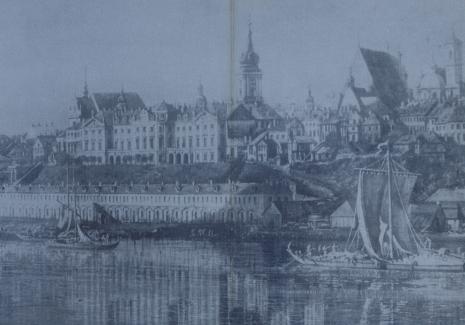 [Zaproszenie] Canaletto Bernardo Bellotto. Obrazy z Zamku Królewskiego w Warszawie [...]
