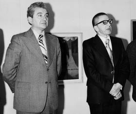 Jan Morawiec (wiceprezydent Łodzi) i dyr. Ryszard Stanisławski