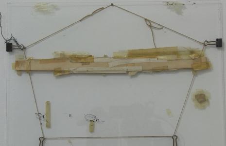 Nahum Tevet: Prace na szkle, 1972-1975