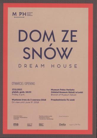 [Zaproszenie] Dom ze snów/ Dream house [...]