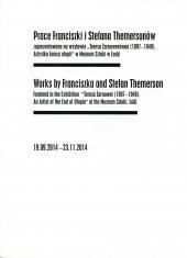[Informator] Prace Franciszki i Stefana Themersonów [...]