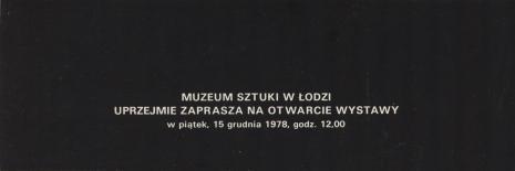 [Zaproszenie] Wiesław Karolak. Formy znane, formy wyobrażone [...]