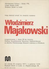 [Zaproszenie] Włodzimierz Majakowski
