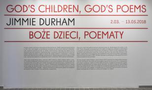 Jimmie Durham. Boże dzieci, poematy