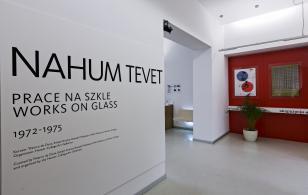 Nahum Tevet. Prace na szkle, 1972-1975