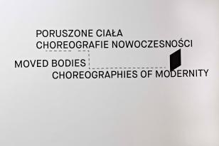 Poruszone ciała. Choreografie nowoczesności