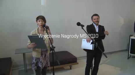 Wręczenie nagrody MS 2010
