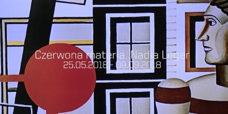 Czerwona materia. Nadia Léger