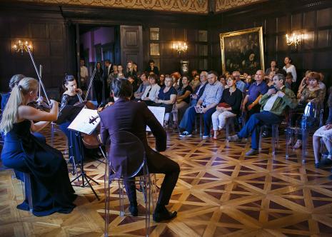Wernisaż. Koncert kameralny. Fot. Anna Taraska-Pietrzak.
