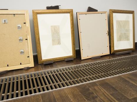 Instalacja wystawy. Fot. Julia Talaga.