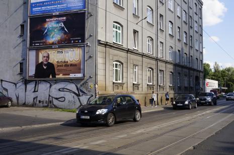 Sztuka to... Akcja promocyjna ms na ulicach Łodzi.