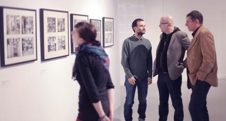 Wernisaż. Andrzej Przywara (Fundacja Galerii Foksal), Piotr Rypson, Ryszard Cichy