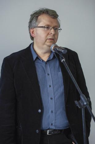Paweł Polit (kurator wystawy, Centrum Muzeologiczne).